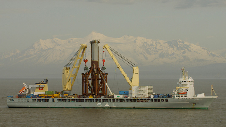 Deutsche-Oel-Gas-Transport-Monopod-Alaska